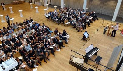 Prof. Dr. Lisa Hefendehl-Hebeker sprach über die Ansprüche an die Professionalität von Lehrkräften. Foto: Ulrichs