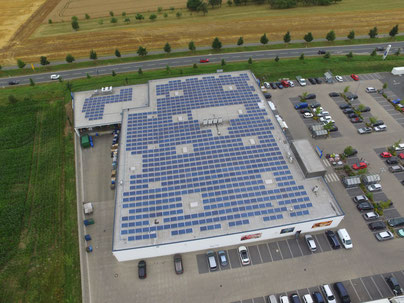 Solarstrom Industrie