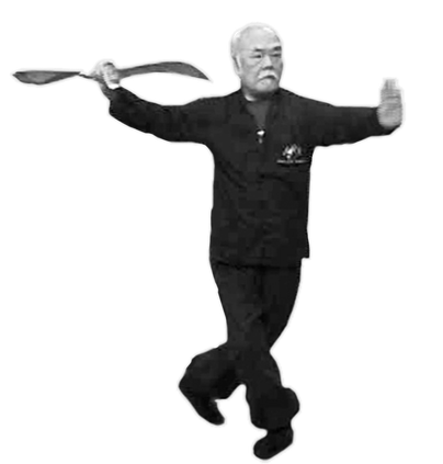 SIFU SHUM - WU TAI CHI SABRE - 吳式太極 玄玄刀