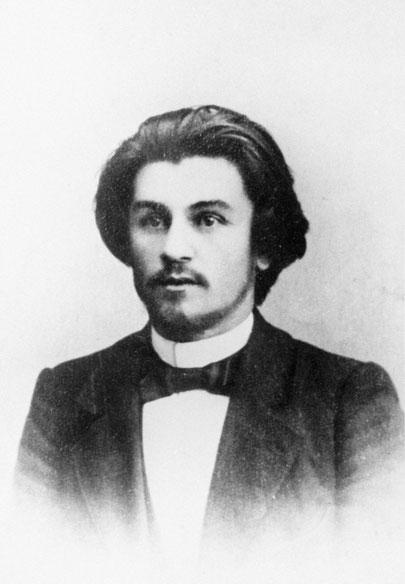 カジミール・マレーヴィチ。1900年頃。