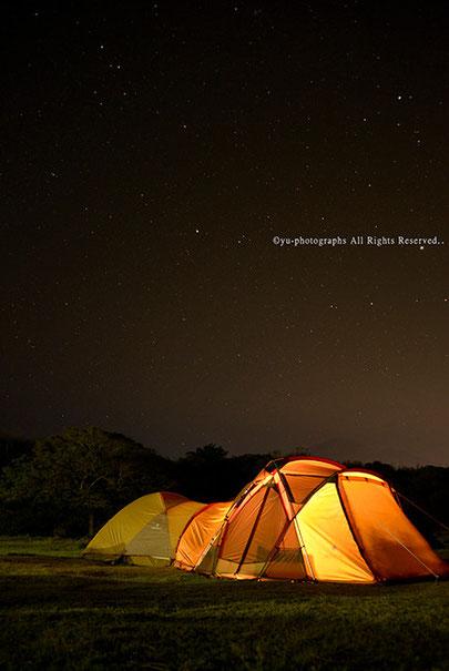屋久島ガイド山好き 里のキャンプツアー yu-photographs