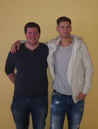 Kevin Weinert und Thomas Herr