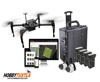 Smarter Farming Package con drones Matrice 100 es una potente solución todo en uno para Agricultura de Precisión y Desarrolladores