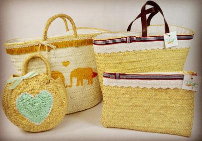 Die Taschen sind hand-made in der sonnigen Algarve