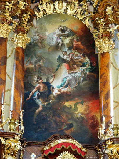 Hochaltargemälde, Schutzengelkirche Eichstätt
