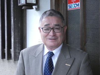 砂鉄川漁業協同組合 砂鉄川漁協 松岡俊太郎 代表