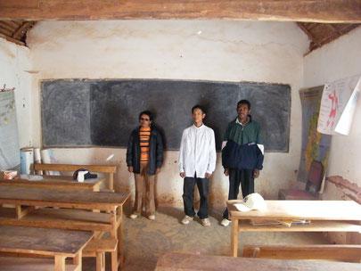 Le Personnel enseignant de Mangarano