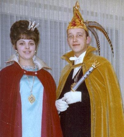 1969 Prinz Ferdinand Markmann I. Prinzessin Gerlinde Ring I.