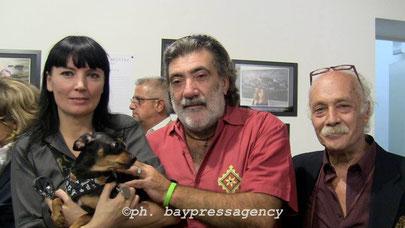 con BRUBO AYMONE e SILVIO FRIGERIO