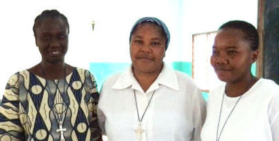 Marie Philomène Diouf, Marie Justine Agbo - Provincial, Adeline Attassoko