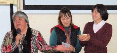 Ana Patricia Palomo, Dora Orlik, Cecilia Bentancourt,