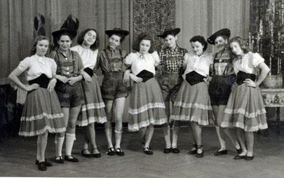 Weihnachtsfeier 1941 in der Stadthalle