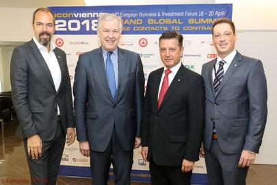 Brand Global Summit, Jürgen Roth, Martin Eichtinger, Gerhard Hrebicek, Stefan Krenn