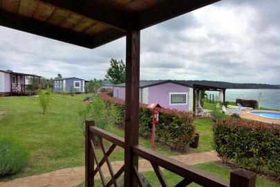 Luxus Mobilheim Camping Istrien