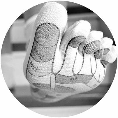pieds, réfelexologie plantaire, histoire, zones réflexes