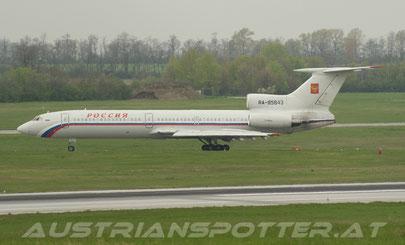 Russia State Transport Company ***** Tu-154M ***** RA-85843