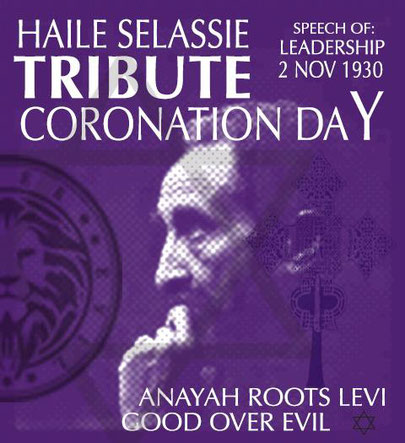 leadership haile selassie coronation day