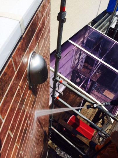 外壁高圧洗浄 サイディング壁 丁寧に行う事!