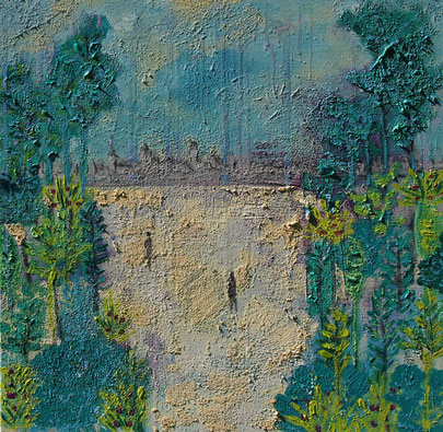 Abstrakte Malerei von Linda Ferrante