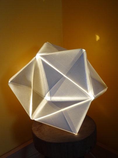 Lampe origamis