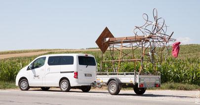 Transport de sculpture