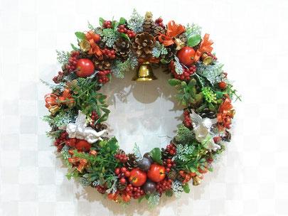 クリスマスリース、メイン、画像