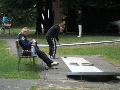 Nochmal Bianca Oberweg mit Alice Kobisch (Mainz)