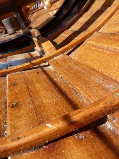 bordage à clin - Héritage Canoë Bois