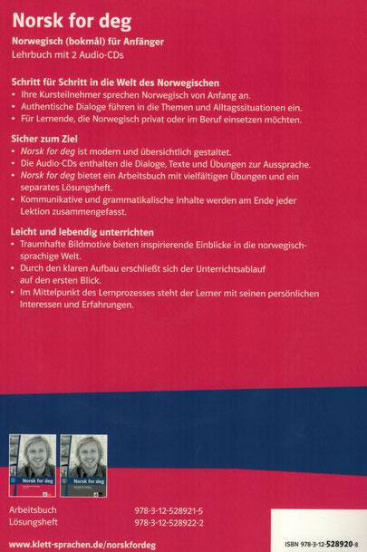 Rezension Norsk for deg Lehrbuch norwegisch
