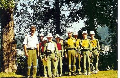 Die Jugendgruppe beim Landesjugendwettbewerb in Pörtschach