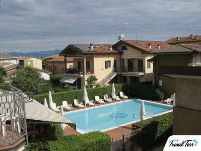 Hotel met zwembad Gardameer