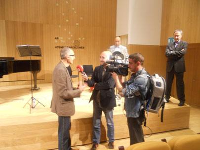 BTV entrevista Jesús Rodríguez Picó, autor de l'òpera URBS