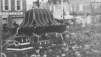 Lincoln's procession in Philadelphia