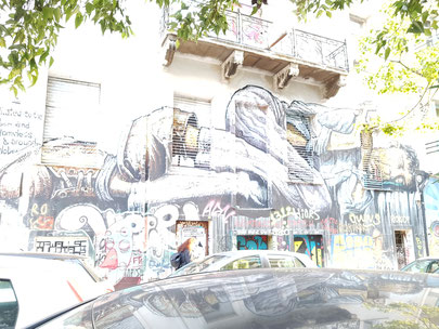 Street graffiti in Athens