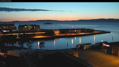 14.08.2012   Hafen von Trondheim