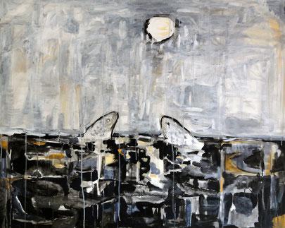 Nostalgia, 79 x 58 cm, Acryl auf Leinwand, 2008.