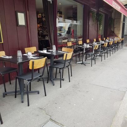30 chaises à la cantine de quentin 75010