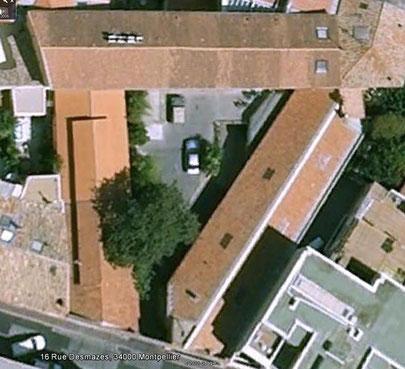 Les bureaux du 16b rue Desmazes à MONTPELLIER