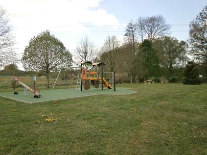 Sur le parc des loisirs...