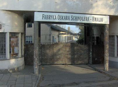 Entrada principal FABRYKA OSKARA SCHINDLERA-EMALIA