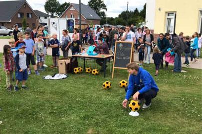 Fußball Dart in Schleswig Holstein