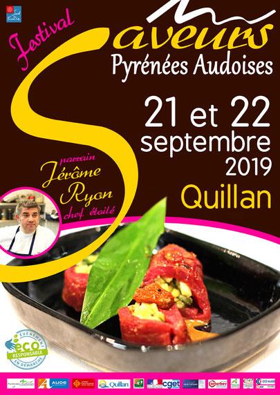 Festival des Saveurs en Pyrénées Audoises 2019 à Quillan