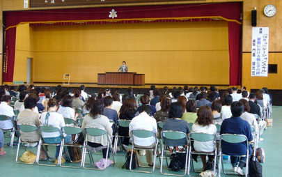 福島県立郡山北工業高等学校PTA講演