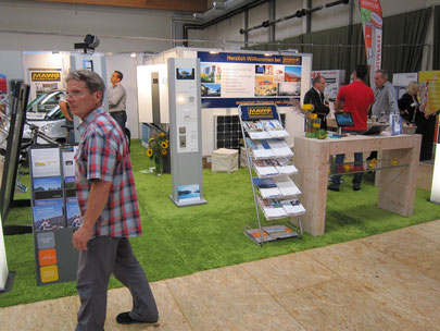 Barnim Bau in Bernau, auf dem Stand von MAWO Elektro e.K. in Zusammenarbeit mit dem Smart Center Berlin