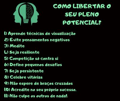 libertar potencial- proativo e motivado-