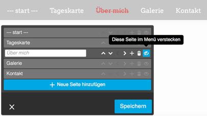 Webseite im Aufbau - Unterseite verstecken