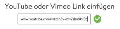 Jimdo Hintergrund Video Link einfügen