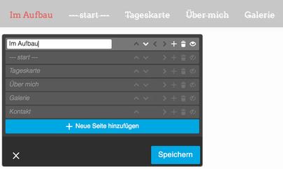 Webseite im Aufbau - Startseite im Aufbau