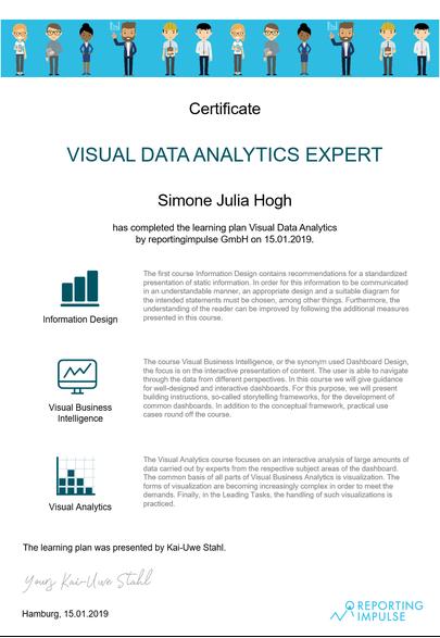 Visual Data Analytics Expert by reportingimpulse