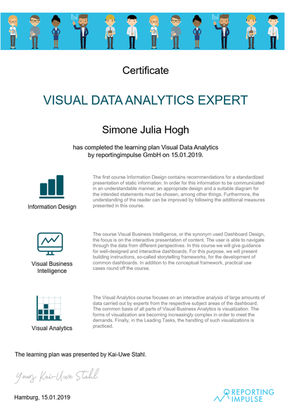 Visual Data Analytics Expert by reportingimpulse